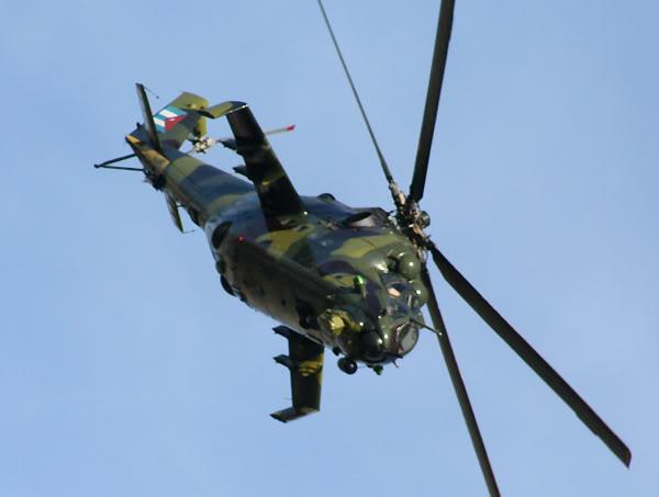 Mil Mi-35 im aktuellen Anstrich. (Bild: fdra.blogspot.de)