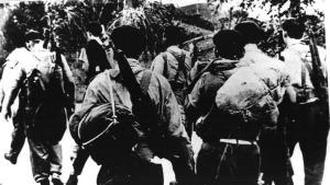 Milizionäre während der Invasion in der Schweinebucht (Bild: ecured.cu)